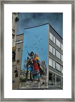 One Wall One Artist Framed Print by Juli Scalzi