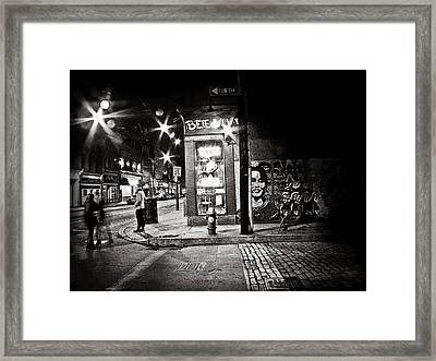 One Way Streets Framed Print by Jessica Brawley