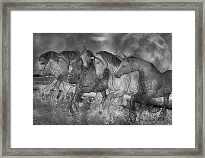 One With The Sea Framed Print by Betsy C Knapp