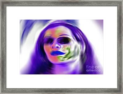 Oneself Framed Print by Gwyn Newcombe