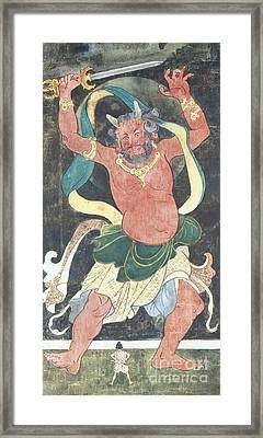 Oni, Legendary Creature Framed Print by Photo Researchers