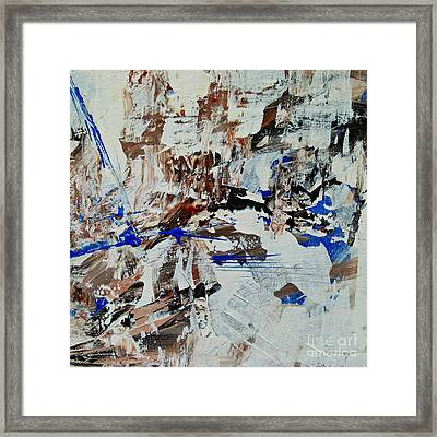 Only A Day Framed Print by Ismeta Gruenwald