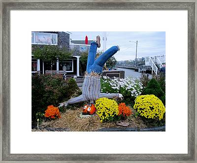Ooh What A Night Framed Print by Will Boutin Photos