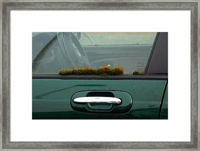 Oot The Car Stirling Framed Print by Nik Watt
