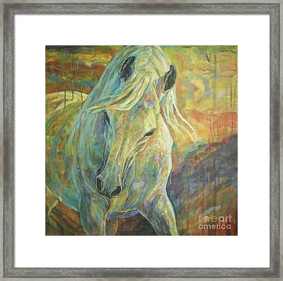 Opal Dream Framed Print by Silvana Gabudean