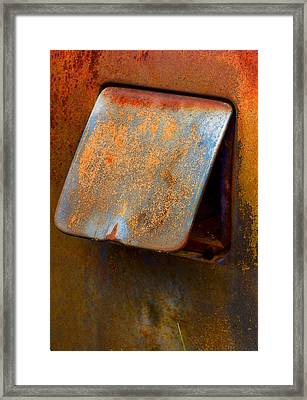 Open Cap Framed Print by Jean Noren