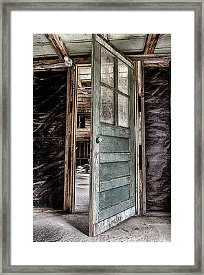 Open Door Framed Print by Caitlyn  Grasso