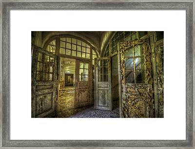 Open Doors Framed Print by Nathan Wright