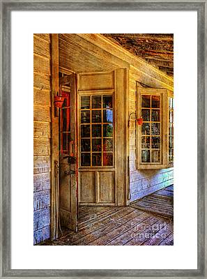 Open For Business Framed Print by Lois Bryan