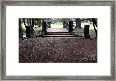 Open Path Framed Print by Gonzalo Teran