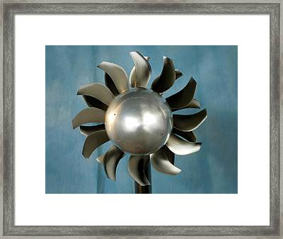 Open Rotor Engine Framed Print by Nasa