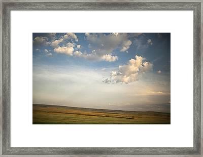 Open Skies Framed Print by Andrew Soundarajan