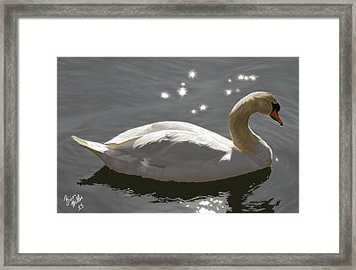 Open Water Ahead Framed Print by Brien Miller