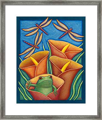 Opening Day Framed Print by Mary Anne Nagy