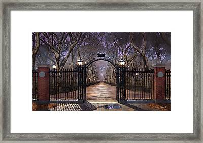 Opening To Truth Framed Print by David M ( Maclean )