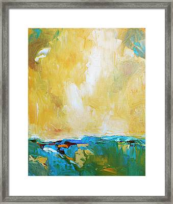 Openness Framed Print by Becky Kim