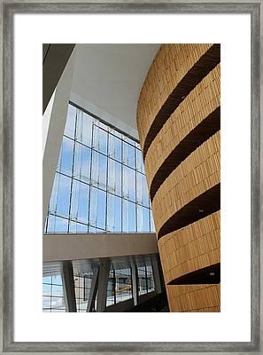 Opera House Framed Print by Demi Meyer