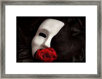 Opera - Mystery And The Opera Framed Print by Mike Savad