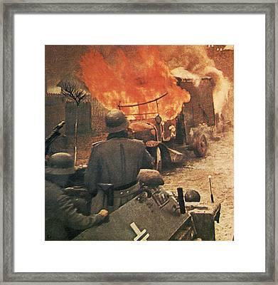 Operation Barbarossa, 1943 Framed Print by German Photographer
