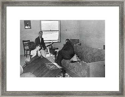 Operation Doorstop Atom Bomb Test Framed Print by Us National Archives