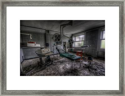 Operation Framed Print by Nathan Wright