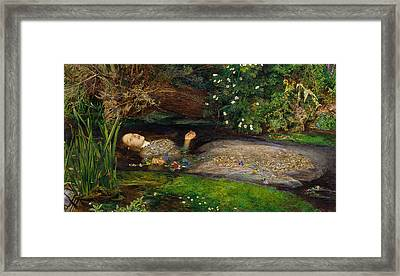 Ophelia  Framed Print by John Everett Millais