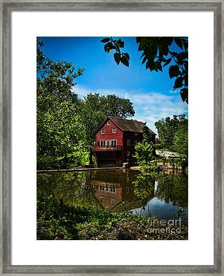 Opie's Grist Mill Framed Print by Colleen Kammerer