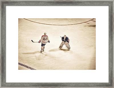Opponents Framed Print by Karol Livote