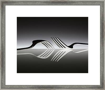 Opposites Framed Print by Wieteke De Kogel