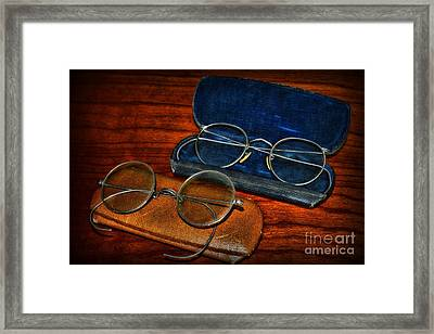 Optometrist - Which Pair Framed Print by Paul Ward