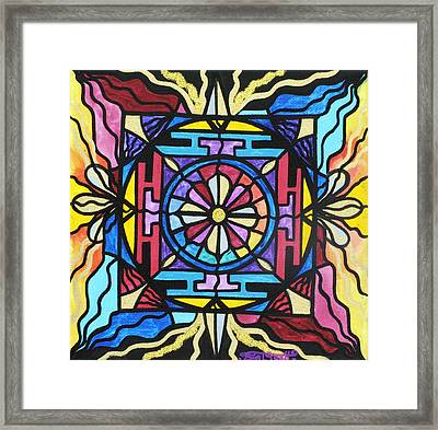 Opulence Framed Print by Teal Eye  Print Store