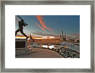 Orange October 2012 Celebrates The San Francisco Giants Framed Print by Jorge Guerzon