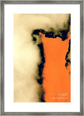 Storm Framed Print by Jacqueline McReynolds