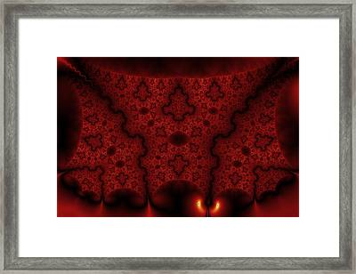 Orange Veil Framed Print by Mark Eggleston
