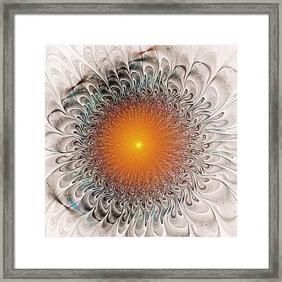 Orange Zone Framed Print by Anastasiya Malakhova