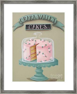 Orara Valley Cakes Framed Print by Catherine Holman