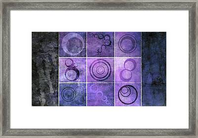 Orb Ensemble 3 Framed Print by Angelina Vick