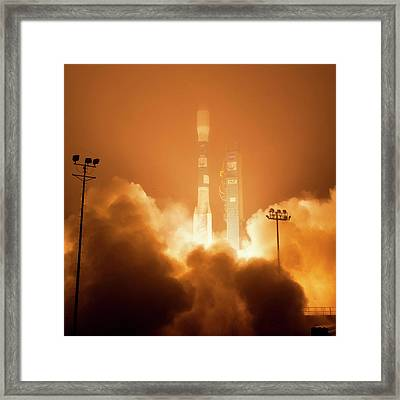 Orbiting Carbon Observatory-2 Launch Framed Print by Nasa/bill Ingalls