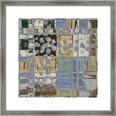 Orchards And Farms Number 1 Framed Print by Carol Leigh