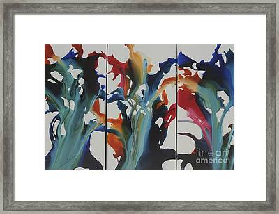 Orchid Framed Print by Sherry Davis