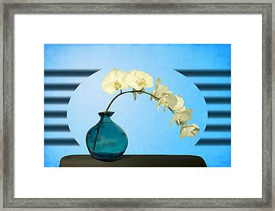 Orcidea Framed Print by Mark Ashkenazi