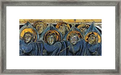 Order Of Cherubim Angels - Study No. 2 Framed Print by Steve Bogdanoff