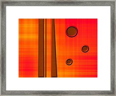 Orderly Thought Framed Print by Wendy J St Christopher