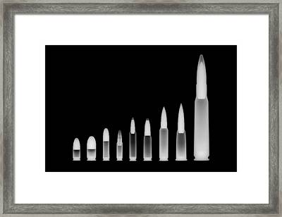 Ordnance Reversed Framed Print by Ray Gunz