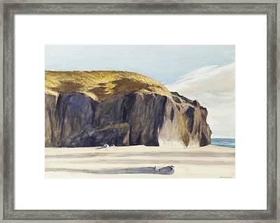 Oregon Coast Framed Print by Edward Hopper
