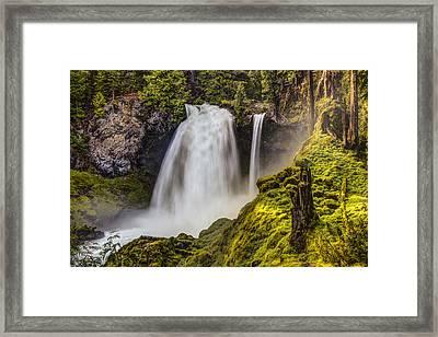 Enchanted Framed Print by Chris Austin