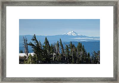 Oregon, Mount Hood Framed Print by Matt Freedman