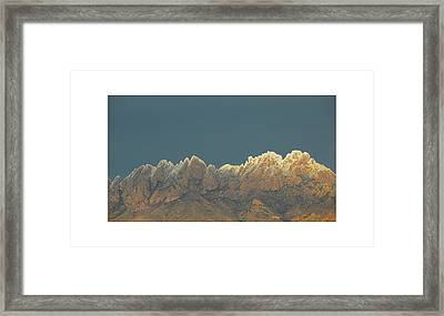 Organ Snowy Mountains Framed Print by Jack Pumphrey