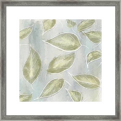 Organic Feel Framed Print by Lourry Legarde
