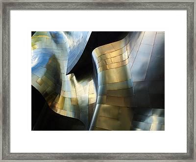 Organic Metal #3 Framed Print by David Reams